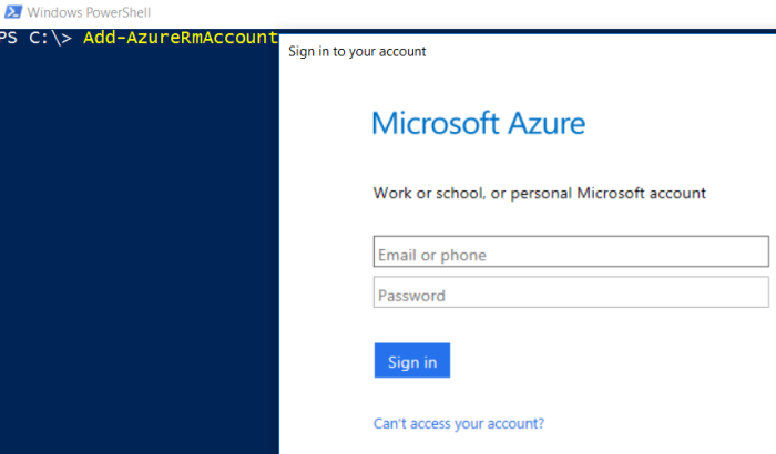 AZURE Reserve Public IP Address – Classic/ARM |