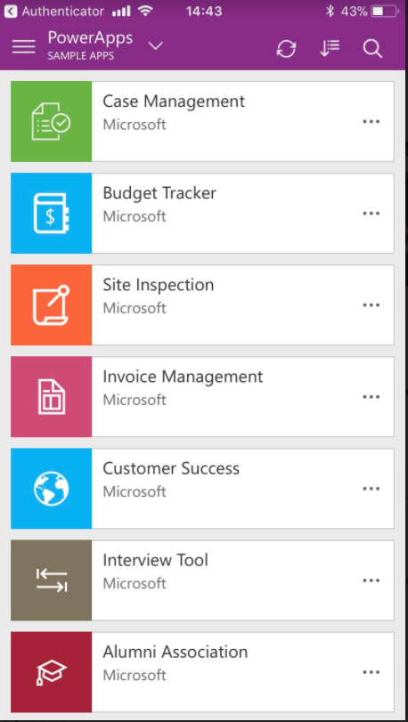 Powerapps Disable Sample Apps - Office 365 invoicing app