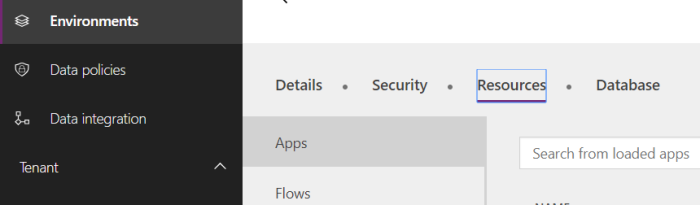 Microsoft PowerAPPS and Flow restrict third party Apps |