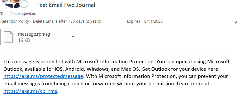 How to send encrypted email on outlook 2020